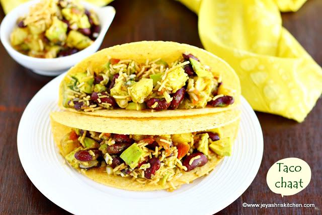 Khakra Tacos: