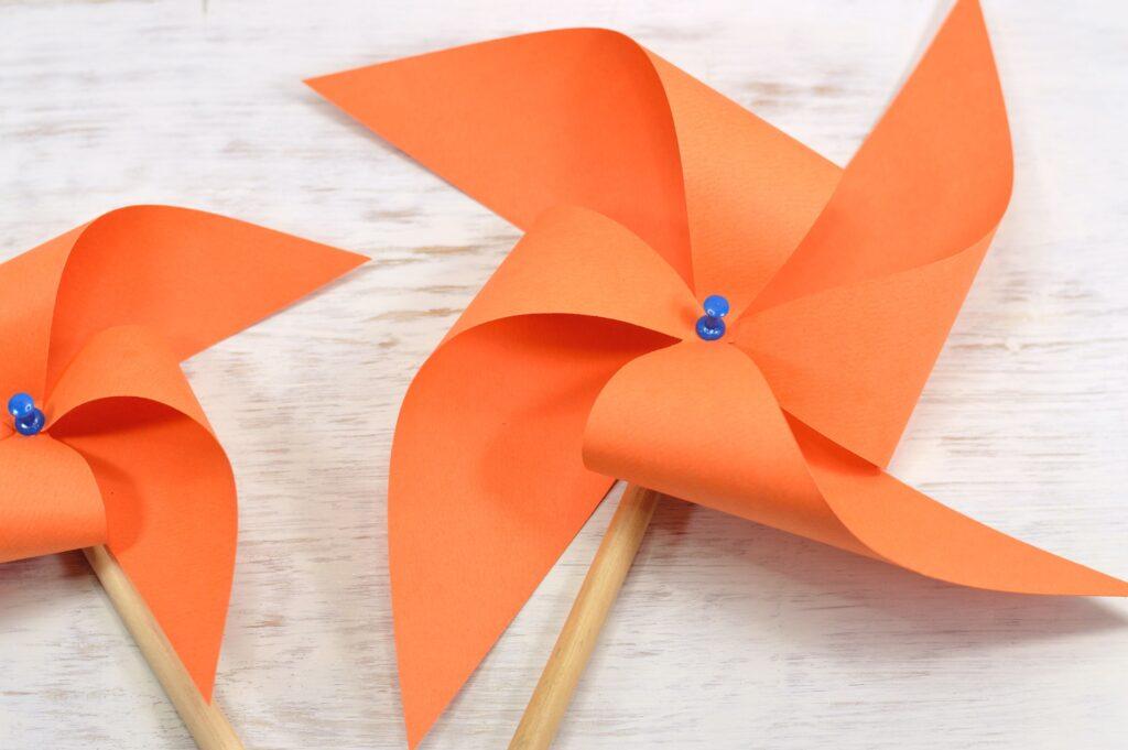 How to make Paper Pinwheel Craft