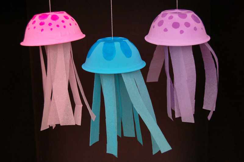 How to make Jelly fish